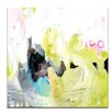 Artist Lane 'Alphabet City' by Anna Blatman Painting Print on Wrapped Canvas