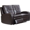 Hyde Line Furniture Sarah Leather Layflat Reclining 2 Seater Sofa