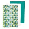 Premier Housewares Leaf 3-Piece Tea Towel Set