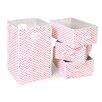 Badger Basket Folding Laundry Hamper and Waste Basket Set