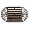 Relaxdays Bristles Welcome Doormat