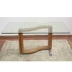 Hokku Designs Wooden/Glass Dining Table