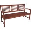 Lynton Garden Madison 3-Seater FSC-Certified Eucalyptus Garden Bench