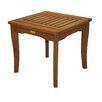 Outdoor Interiors Eucalyptus End Table