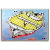 Artist Lane 'Mellow Yellow' by Dan Mason Framed Painting Print on Wrapped Canvas