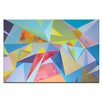 Artist Lane 'The Extrapolation of Internal Desire 1' by Dan Mason Painting Print on Wrapped Canvas