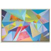 Artist Lane 'The Extrapolation of Internal Desire 1' by Dan Mason Framed Painting Print on Wrapped Canvas