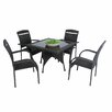Caracella 4 Seater Dining Set