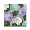 Trademark Fine Art 'Hortensia Lavenders' by Color Bakery Graphic Art on Wrapped Canvas