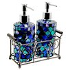 Home Essence Cylinder Mosaic Soap Dispenser
