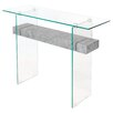 Home Essence Glass Console Table