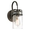 Three Posts Bloomingdale 1-Light Armed Sconce