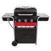 Char-Broil 3-Burner Combo Propane Gas and Charcoal Grill