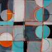 'Geometric II' Painting Print on Wrapped Canvas
