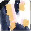 Oliver Gal 'Mostazas' Painting Print on Wrapped Canvas