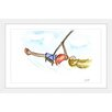 Marmont Hill 'Swinging Girl' by Phyllis Harris Framed Graphic Art