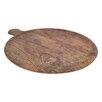 SimplyKitchen Melamine Rustic Wood Pizza Platter