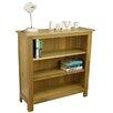 Hazelwood Home Solid Oak 90cm Bookcase