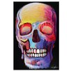 Artist Lane 'Skull 4' by Dan Mason Painting Print on Wrapped Canvas