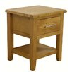 Hazelwood Home 1 Drawer Side Table