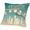 East Urban Home Houston Throw Pillow