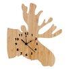 Northwood's Moose Wall Clock