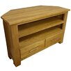 Hazelwood Home Solid Oak TV Stand