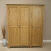 Hazelwood Home 3 Door Wardrobe