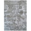 Bakero Disco Hand-Tufted Silver Area Rug