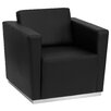 Wade Logan Hypnos Leather Lounge Chair