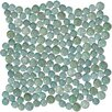 "Susan Jablon 0.75"" x 0.75"" Glass Mosaic Tile in Teal"