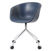 Meelano Leather Desk Chair