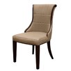 Hazelwood Home Regina Leather Dining Chair