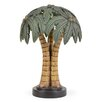 "Island Way Palm Tree Shade 15.25"" Table Lamp"
