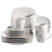 SimplyKitchen Villa 18-Piece Porcelain Tea Set