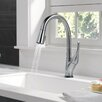 Delta Esque Single Handle Pull Down Kitchen Faucet with Touch2O Technology