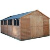 Mercia Garden Products 20 x 10 Wooden Overlap Apex Storage Shed