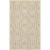 House of Hampton Kenton Hand-Tufted Sand/Ivory Area Rug