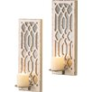 Lark Manor Deco Mirror Wall Sconce (Set of 2)