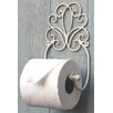 Castleton Home Scroll Design Wall Mounted Toilet Roll Holder