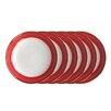"Auratic Inc. Camelia 4"" Appetizer Plate (Set of 6)"