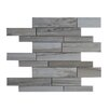 Seven Seas Palissandro Marble Mosaic Tile in Gray