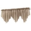 No. 918 Millennial Erica Crushed Sheer Voile Beaded Curtain Valance