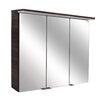 Fackelmann 80,5 cm x 70,5 cm wandbefestigter Spiegelschrank