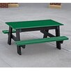 Frog Furnishings Recycled Plastic Kids Picnic Table