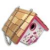 Home Bazaar 8.25 in x 6.25 in x 6.25 in Birdhouse