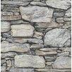 Hazelwood Home Reclaimed 10.05m x 52cm Stone Roll Wallpaper