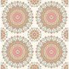 Hazelwood Home Kismet Gemma 10.05m x 52cm Floral Roll Wallpaper