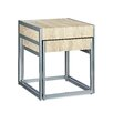Relaxdays Wood and Metal 2 Piece Nest of Tables