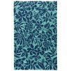 Bay Isle Home Artemi Sea Green/Navy Indoor/Outdoor Area Rug